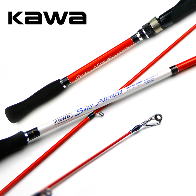 KAWA long casting New Fishing Lure Rod Salty Arround, M/ ML TONALITY, Spinning rod, 2.3/2.4/2.6M,,FREE SHIPPING цена