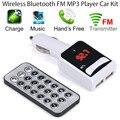 Carro de Áudio MP3 Player Bluetooth Transmissor FM Sem Fio Com Controle Sem Fio FM Modulador Kit Mãos Livres Do Carro Tela LCD SE 23