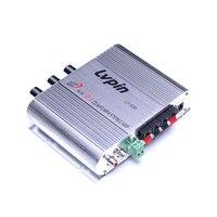 200W Car Amplifier LP-838 12V Smart Mini Hi-Fi Stereo Audio Amplifier For Home Car Auto MP3 MP4 Stereo AMP Boat Motorcycle