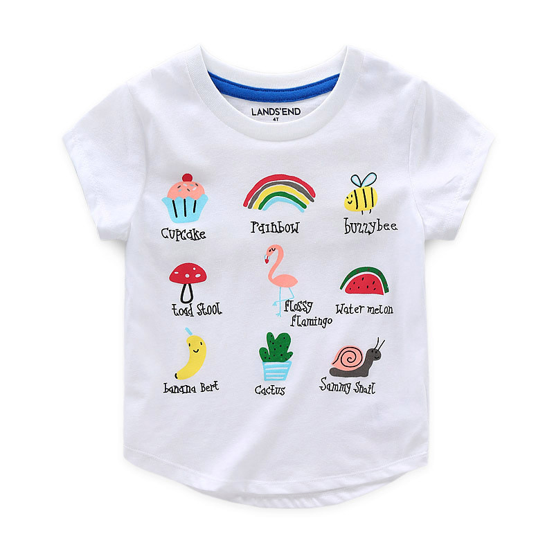 2017 Summer T Shirts For Girls Boys T Shirt Children Clothing Infant