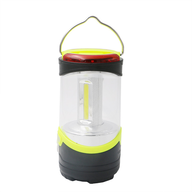 Portable led camping lantern outdoor red light emergencies cob portable led camping lantern outdoor red light emergencies cob rechargeable lamp aloadofball Gallery