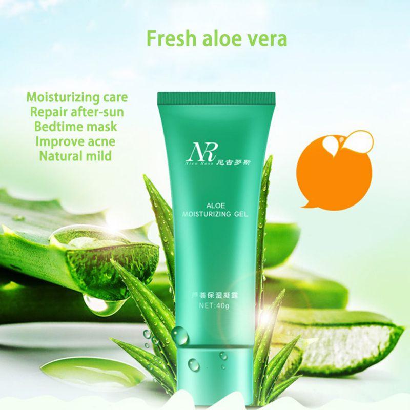 40g de Gel de Aloe Vera Cuidado de La Piel Marca Crema Facial De Ácido Hialuróni