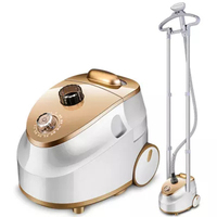 Household Electric Ironing Machine Double Pole Garment Steamer Portable Handheld Hanging Clothes Ironing Tool With Steam