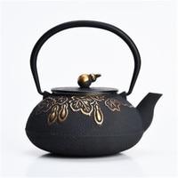 XMT HOME Cast iron tea pot warmer Japanese old pot cast iron pots teapot kettle tea stove trivets