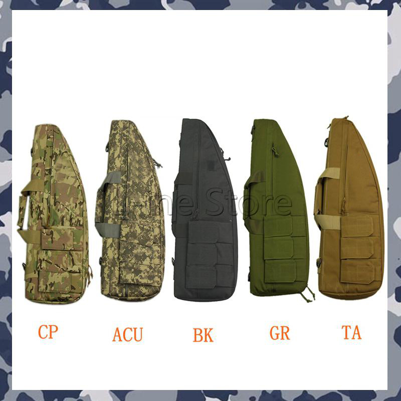 Цена за 70 см Тактический Винтовка Сумка Охота Стрельба Airsoft Gun Сумка С 3 Журнал Сумки 5 Цветов
