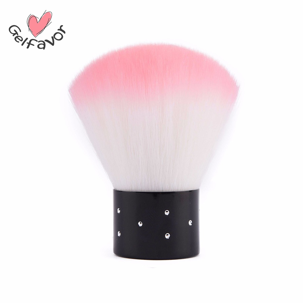 Gelfavor Nail Tools Brush For Acrylic & UV Gel Nail Art Dust Clean Brush Manicure Pedicure Tool Nail Art Dust Cleaner