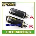 Ktm motocicleta tubo de escape modificado de aleación de aluminio CNC moto CBR R1 R6 ESCAPE Yoshimura twobrothers dos hermanos envío gratis