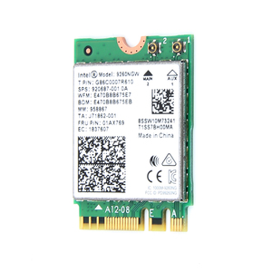 Image 3 - Dual Band Wifi 1.73Gbps Draadloze Kaart Voor Intel 9260 9260NGW 2.4G/5Ghz 802.11ac Wifi Bluetooth 5.0 gigabit M.2 NGFF Wlan kaart