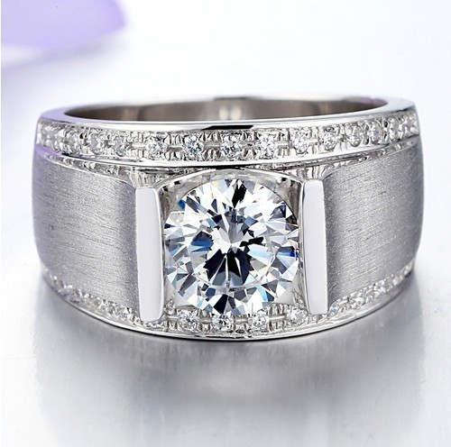 Aliexpresscom Buy Free Shipping 1CT Synthetic Diamond Wedding