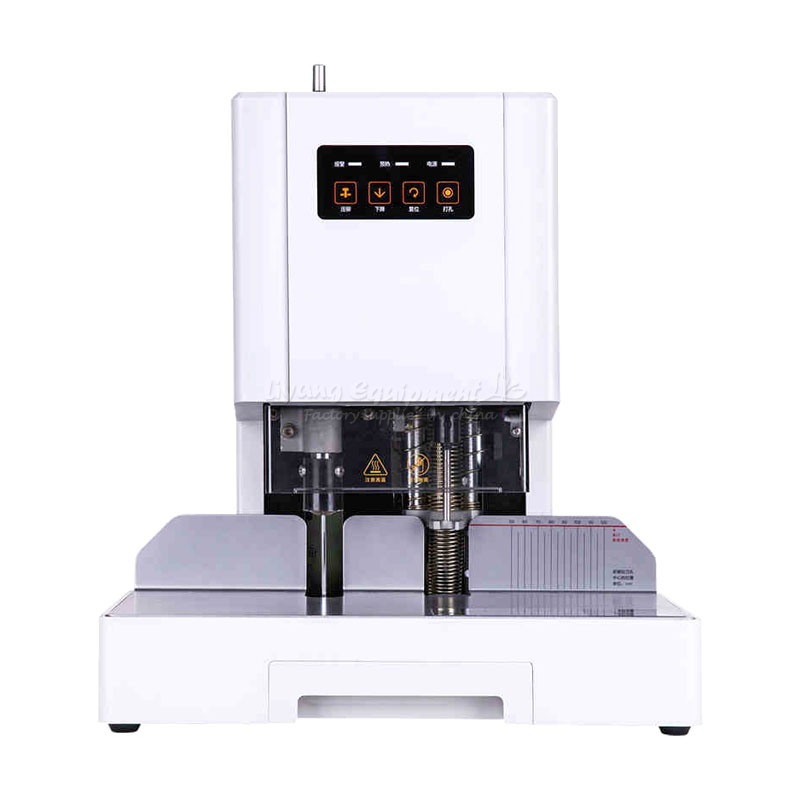 цена на Automatic binding Hot melt adhesive riveted tube laser positioning Automatic bookbinding machine14601