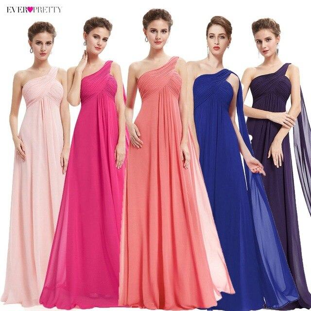 Kleider Für besondere Anlässe EP09816 A linie Einer Schulter Royal Blue Lange Abendkleider 2019 Neue Ankunft Formale Kleider Fit Pergant