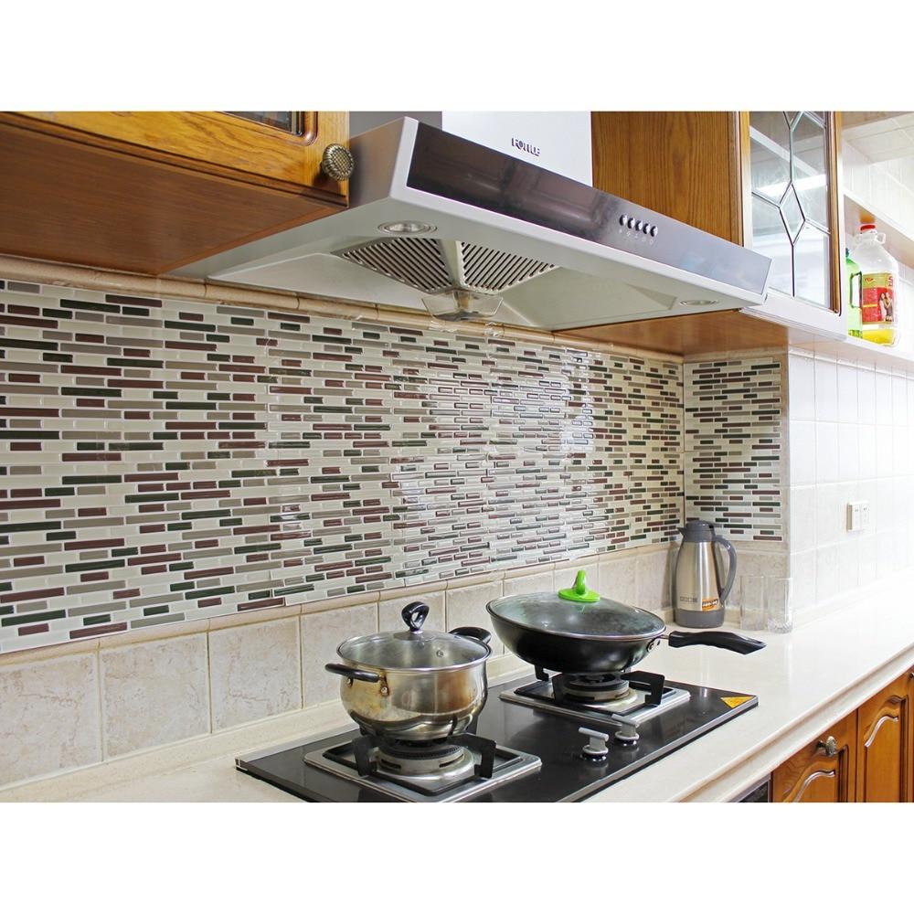 keuken tegels stickers : Mooie Fix Schil En Stok Vinyl Decoratieve Keuken Backsplash Tegel
