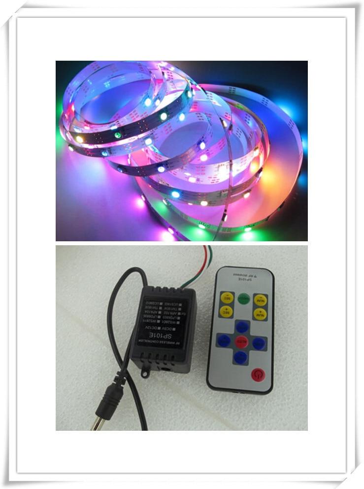 5M LED Strip Light DC5V WS2812B WS2812 IC IP67 30leds i - Aksesorë ndriçimi - Foto 2