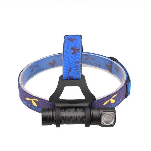SKILHUNT H03 Waterproof 2 1200 LM 3 Modes TIR Lens EDC LED Light Flashlight Torch Power By 18650/CR123 Battry