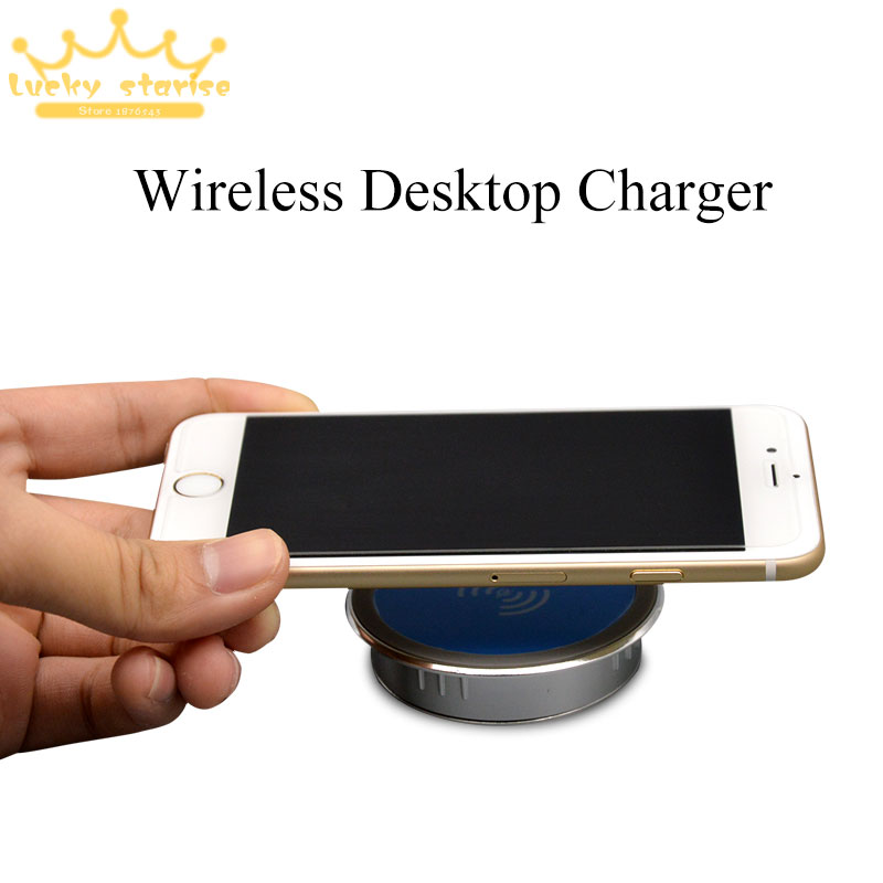 JEREFISH Table Desktop Embedded Qi Wireless Charging