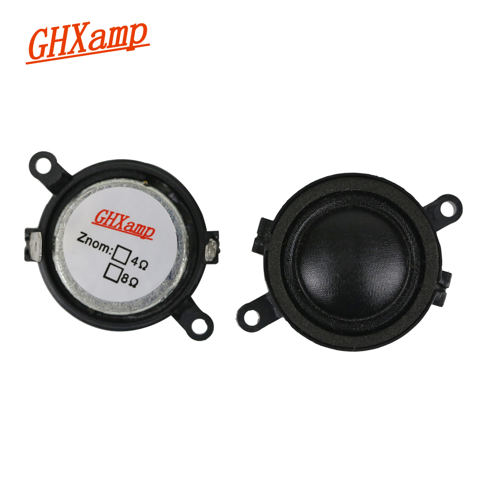 GHXAMP 1.2 inch 30MM 6Ohm 20W Dome Tweeter Speaker Units Poratble Loudspeaker High frequency Neodymium MIni Treble DIY For LG
