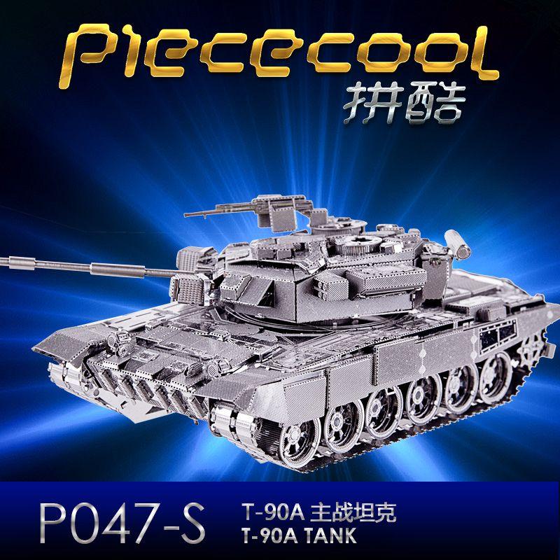 Piececool 2017 T90 TANK- ის უახლესი 3D - ფაზლები - ფოტო 5