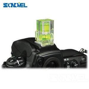 Image 2 - 2 محور فقاعة مستوى الكحول الحذاء الساخن محول Dslr Slr كاميرا التصوير اكسسوارات لكانون ل نيكون أوليمبوس كاميرا SLR