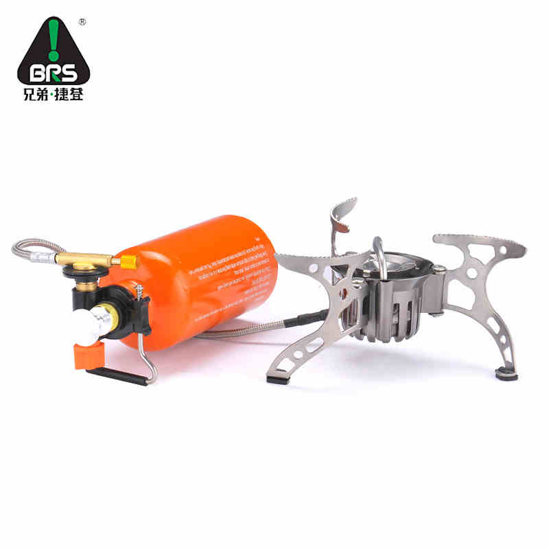 BRS Portable Multi Fuel Outdoor Backpacking Picnic Camping Stove Oil Gas Gasoline Furnace brs 8