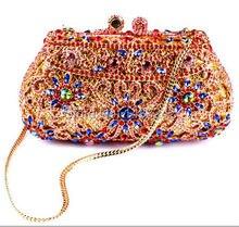 AS16-11 MYO1 Top Fashion Luxury Diamant Afrikanischen Handtasche/Geldbörse für Party Hochzeit
