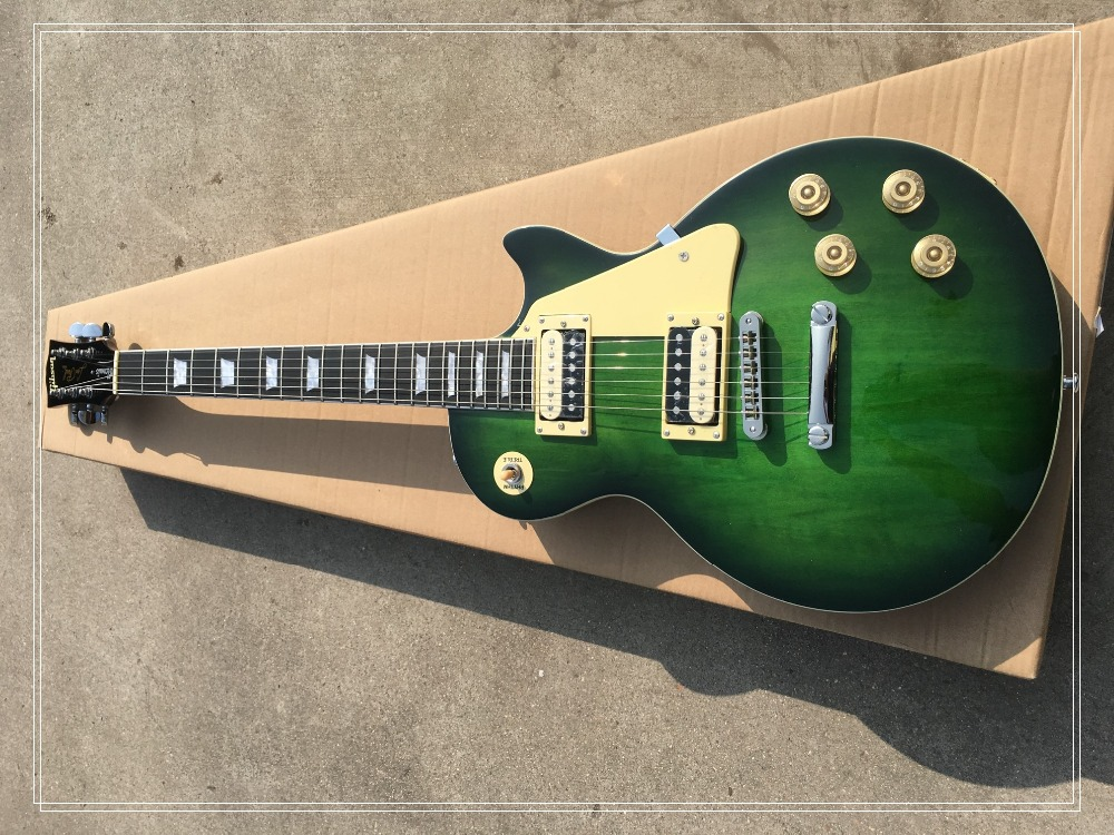 in stock!!! electric guitar lp rose wood fingerboard green color beautiful and wonderful thank you righteous price for zakk wylde signature bullseye lp electric guitarra rosewood fingerboard guitar in stock