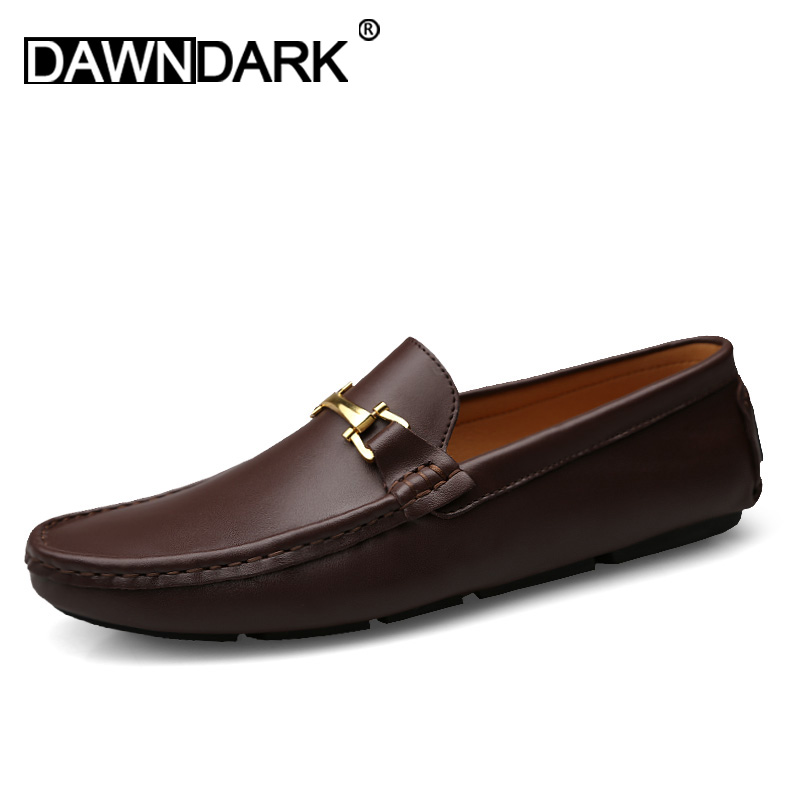 New Casual Loafers Shoes Young Blue Black Men Walking Driver Shoes Comfortable Non-slip Male Lazy Shoes Rubber Sole Flats Shoes Men's Shoes