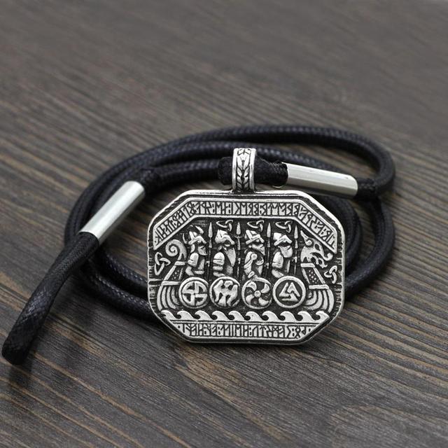 Man Nordic Viking Bracelet...