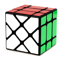 New Arrival YongJun YJ Speed 3x3x3 Fisher Cube Magic Cubes Speed Puzzle Learning Educational Toys For Children Kids Cubo Magico strange sharp magic speed cube educational learning toys for children kids gift puzzle speed cube challenge magico cubo toy