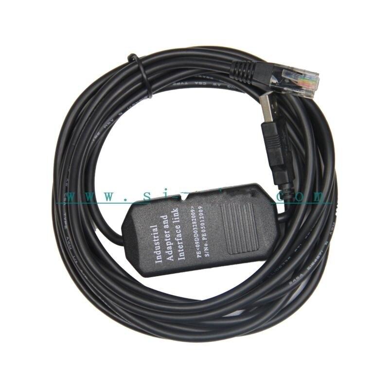 Spedizione gratuita USB-SZ-4, S Series USB cavo di programmazione plc