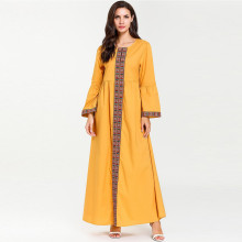 abayas for women muslim long abaya beautiful dresses Middle Eastern Long Dress Dubai Kaftan RamadanY525
