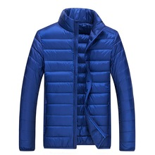 2019 Winter New Mens Down Jacket Korean Slim Versatile Thin Collar Warm
