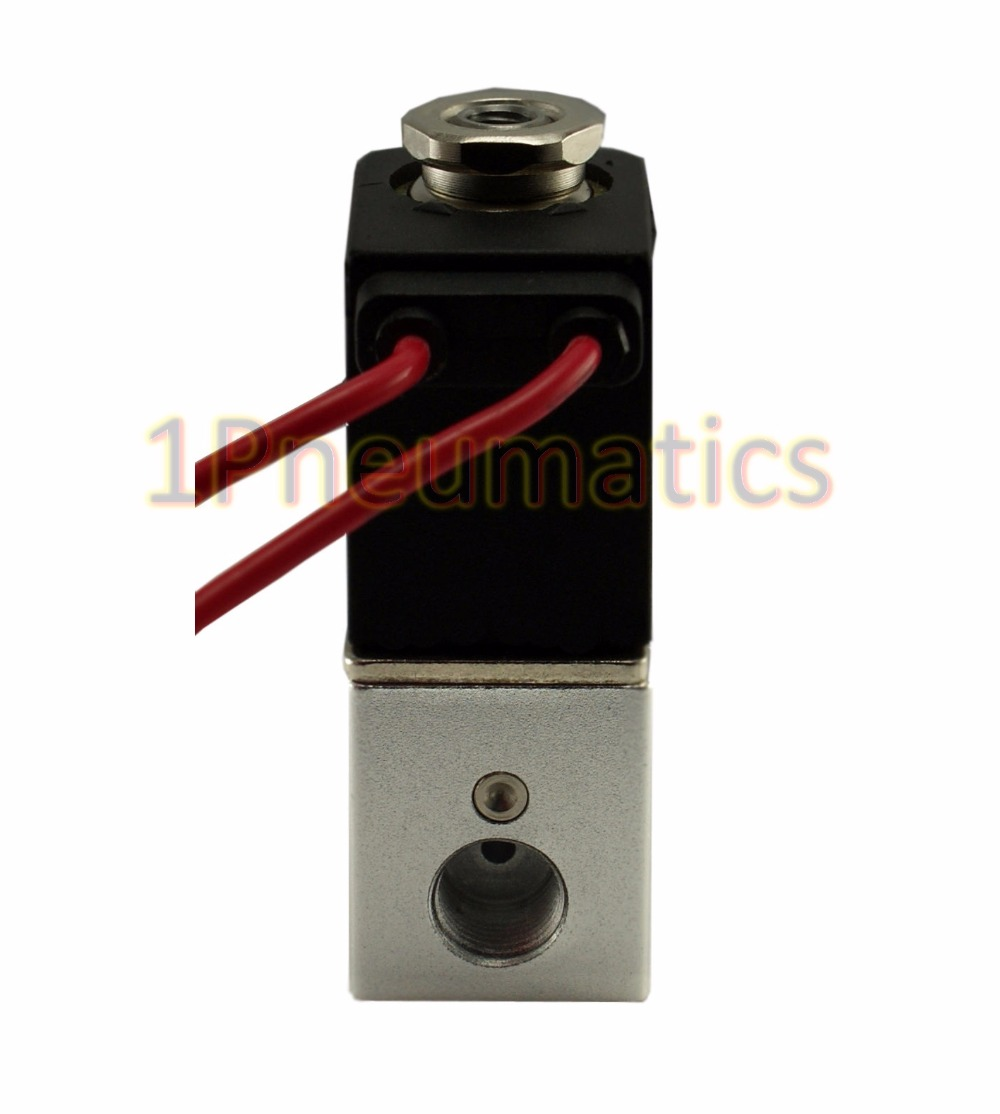 Free Shipping 1/8 Pneumatic 3 Way Electric Air Solenoid Valve 220V AC Zero Differential Valve high quality ac 220v 50 60hz 4 way 3mpa heat pump reversing solenoid valve for air condition free shipping
