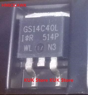 все цены на HMICICAWK Original 100% NEW GS14C40L IRGS14C40LTRLPBF IRGS14C40L D2PAK 10PCS/LOT онлайн