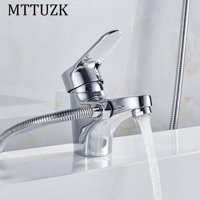 Relativ MTTUZK Chrome Messing Dusche Set Heißer und Kalter Mischer MJ08