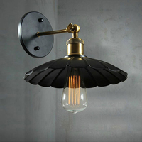 New Arrival Black Lustre Vintage Light Fixtures With Edison Lamp Wall Mounted Ac Iron E27 Light Wall Sconce For Home Lighting wall sconce light wall sconce light wall -