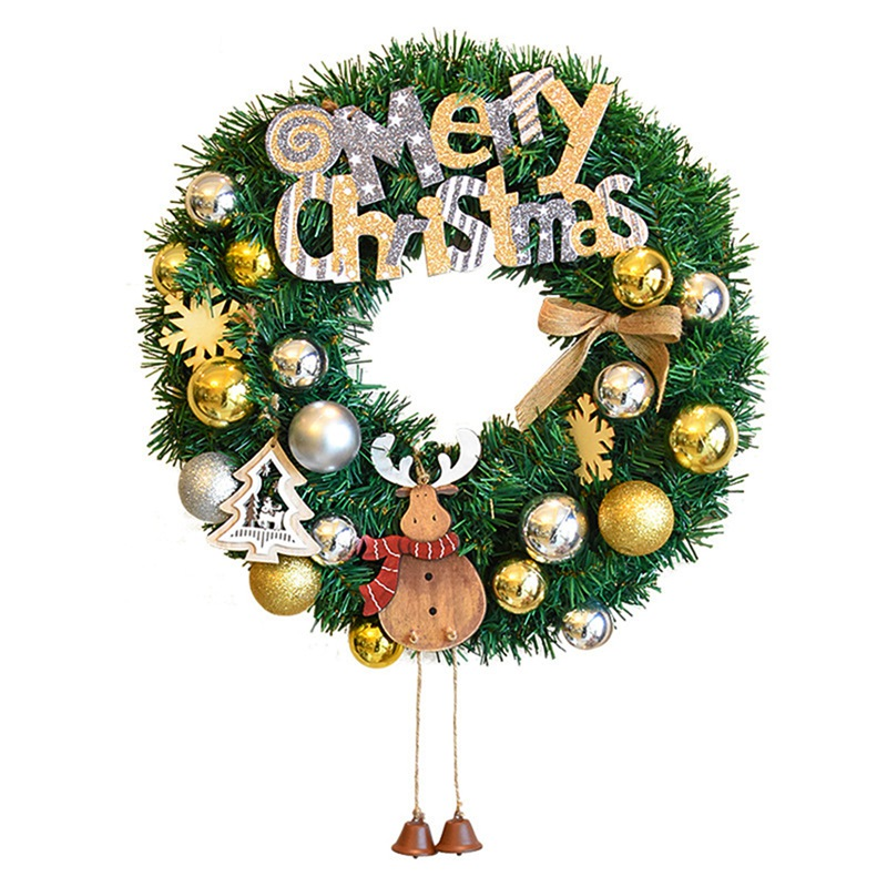 New Arrival Christmas Wall Window Wreath Decorations ...
