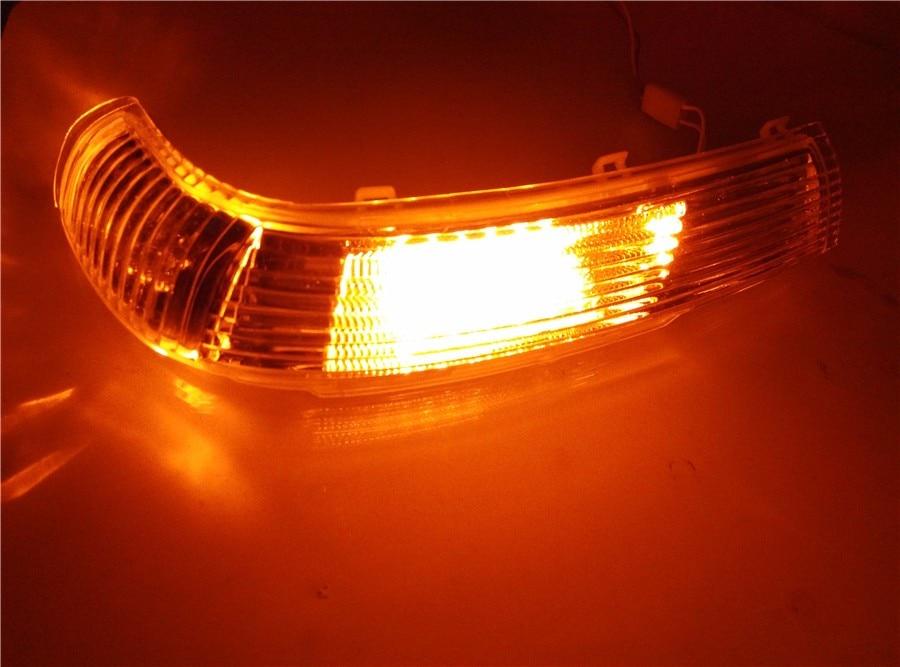 цена на 1 piece Turn Signal LED lighjts for Volkswagen Touareg2003-2006 Rearview mirror OE 7L6 949 101 B /102 B