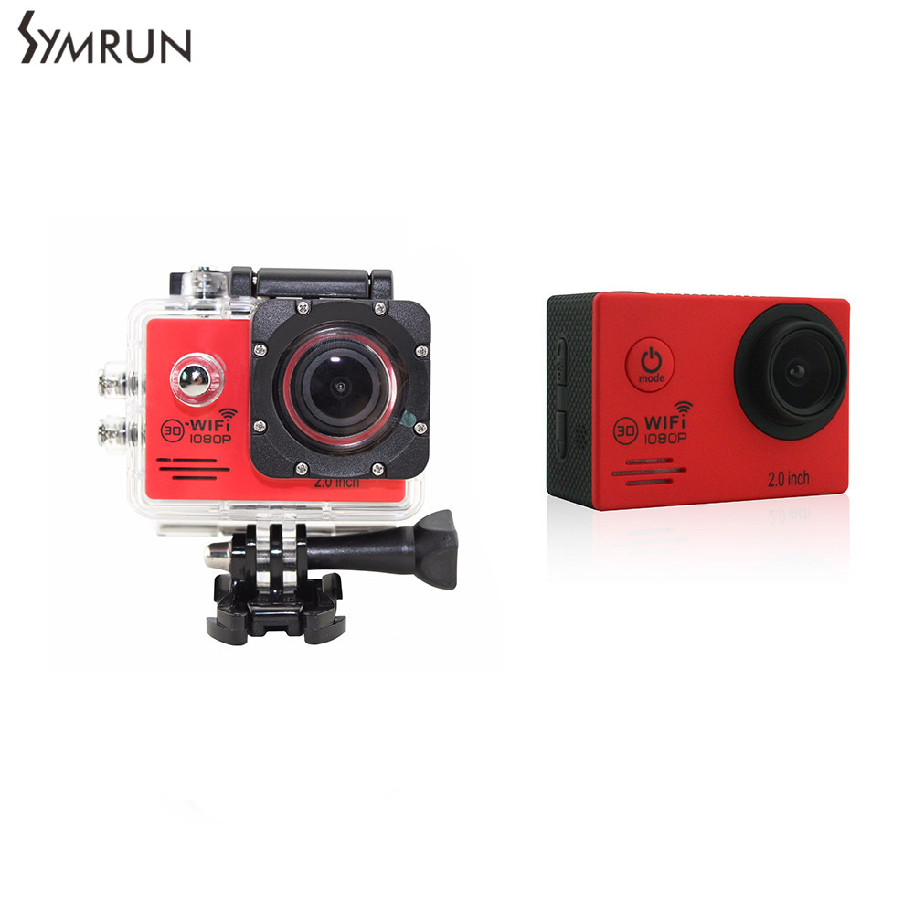 ФОТО Battery+ WIFI 1080P DVR Action camera Go Sports pro SJ4000 wifi camera Waterproof Camera As SJ4000