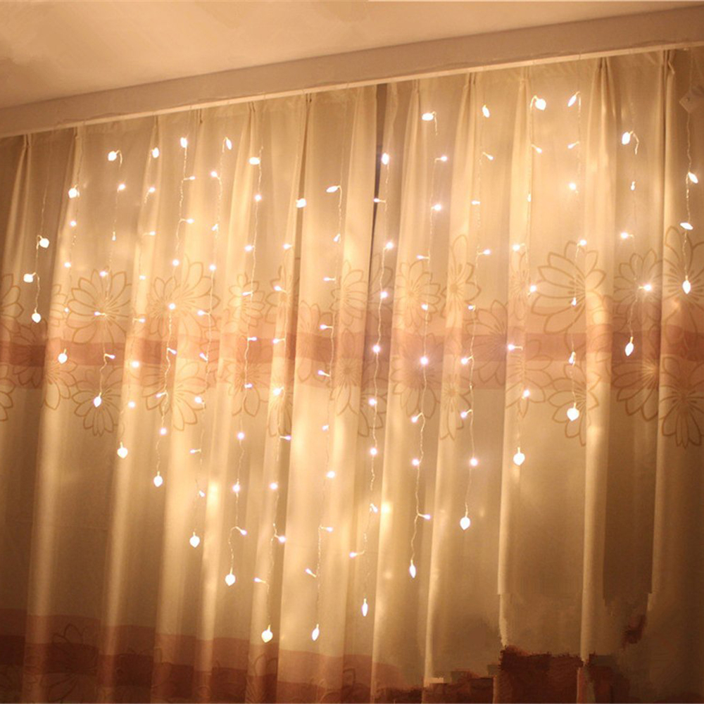 Modern String Heart Shape 2M Love LED Curtain String Light Christmas LED Fairy Lights for Party/Window/Wedding window curtain led string white lights 3m x3m for xmas wedding party decor 220v eu plug party decorations 304 led