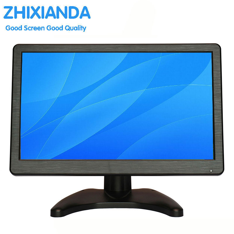 12 inch Wide-screen PC Monitor with HDMI VGA USB input 1920*1080 Pixels 16:9 wide screen computer monitor with Bulit in Speakers