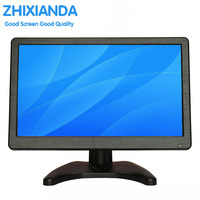 12 inch Wide screen PC Monitor with HDMI VGA USB input 1920*1080 Pixels 16:9 wide screen computer monitor with Bulit in Speakers
