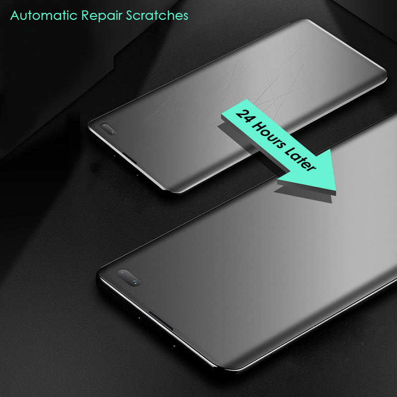 CHYI Curved Ultra Matte Screen Protector Hydrogel film for Samsung Galaxy 3