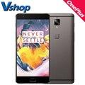 OnePlus 3 A3000 3 Т A3010 4 Г LTE Мобильный Телефон Android 6.0 64 ГБ RAM 6 ГБ ROM Snapdragon 821 1080 P 16MP Камера 5.5 дюймов смартфон