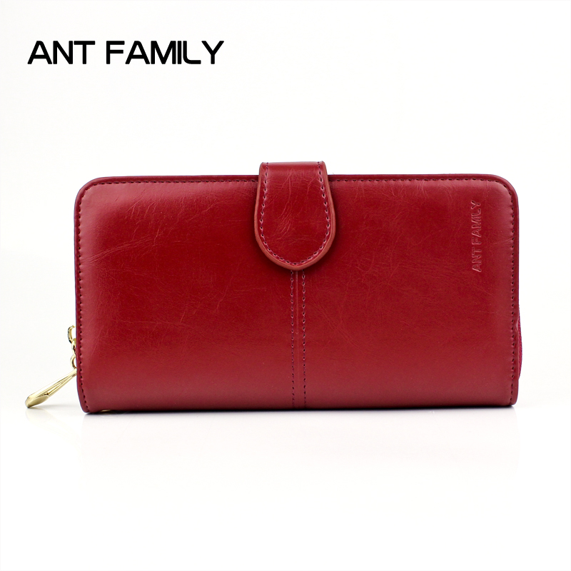 Women Wallet Large Long Credit Card Holder Luxury Clutch Solid Leather Coin Purse Female Woman Wallet for iPhone Zipper Wallets women leather wallets v letter design long clutches coin purse card holder female fashion clutch wallet bolsos mujer brand