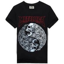 Rocksir summer Megadeth men's t-shirt for men 100% cotton fashion Casual t-shirt O-neck Rock Tshirt T-shirt heavy metal M-XXXL