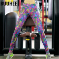 Colorful Leggings Women For Workout Fitness Legging Sexy Clothing Gothic Print Pant Adventure Time Leggins 2017 New Fashion
