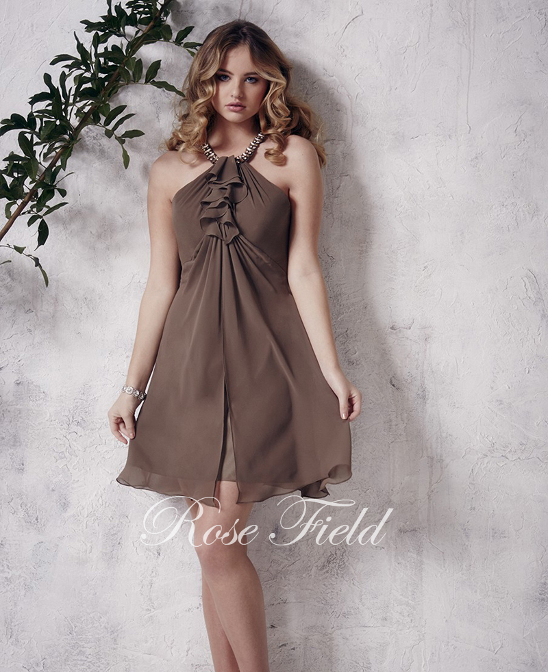 Popular Brown Cocktail Dress-Buy Cheap Brown Cocktail Dress lots ...