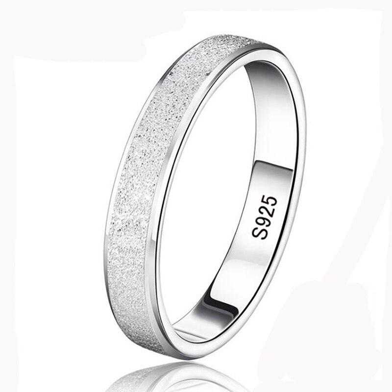 95% OFF! YHAMNI Argent Anneaux De Mariage pour Hommes et Femmes 925 Bijoux En Argent Sterling Anneau Unique Givré Couple Bagues XMS07