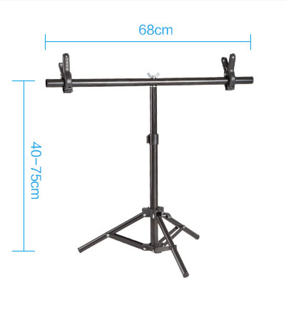 Adearstudio CD50 Small Pvc Background tripod Aluminum Alloy tripod At The Support Rod Gradient Background stand