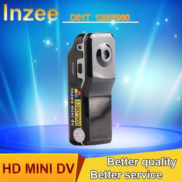 Lnzee D81t mini DV камеры Видеокамеры DVR Видео Веб-Камера камера HD 1280*960 Камеры Спортивный Шлем Мотоцикл Камеры Видео Audio Recorder